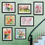 Floral Wall Art - Beverly Brown Prints | www.beverlybrown.com