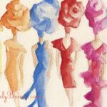fashion art illustrations|Beverly Brown Artist
