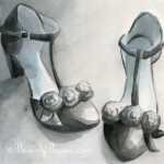 paintings of shoes for sale