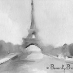 eiffel tower paintings for sale |Beverly Brown Artist