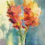 Impressionist Watercolor Flowers Step by Step - Beverly Brown