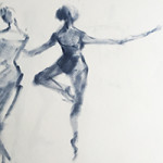 live Ballet sketches by Beverly Brown | www.beverlybrown.com