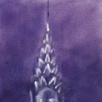 chrysler building painting by Beverly Brown