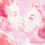 Valentine Kiss - Beverly Brown Artist