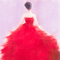 The Red Evening Dress