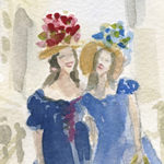 New York's Easter Parade - Beverly Brown Artist