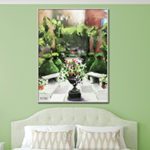 Garden wall art prints
